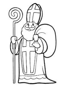 8 Simpliste Saint Nicolas Coloriage Stock Dessin A Colorier Et A Imprimer Saint Nicolas Coloring Pages Winter, Christmas Coloring Pages, St Nicholas Day, Saint Gregory, Santa Pictures, Catholic Kids, Daycare Crafts, Illustration, Christmas Embroidery