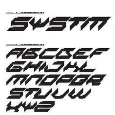 Systm — Legacy of Defeat Graphic Design Fonts, Graphic Design Inspiration, Logo Design, Graffiti Lettering Fonts, Lettering Design, Futuristic Fonts, Aesthetic Fonts, Geometric Font, Cyberpunk Aesthetic
