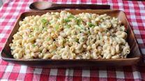 Food Wishes Pasta: This Classic Macaroni Salad Recipe Tastes Magical! Amish Macaroni Salad, Classic Macaroni Salad, Macaroni And Cheese, Kraft Macaroni Salad Recipe, Deli Style Macaroni Salad Recipe, Best Pasta Salad, Pasta Salad Recipes, Grilling Recipes, Cooking Recipes