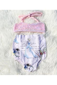 #BelleThreadsPinterest A Princess Story Sparkle Play Suit Ready to Ship