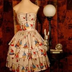 vintage circuse dresses | judy.verro judy.verro Circus print dress? Yes, please.