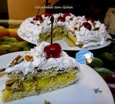 Cozinhando sem Glúten: Torta doce ou bolo de festa