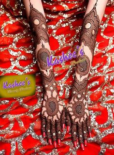 Indian Bridal Mehndi Designs for full hand by kashee Mehndi Designer