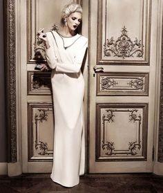 Karl Lagerfeld Fashion Shoot - Karl Lagerfeld High Society Fashion Editorial - Harper's BAZAAR