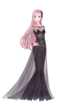Marvelous Learn To Draw Manga Ideas. Exquisite Learn To Draw Manga Ideas. Anime Fashion, Fashion Art, Fashion Design, Anime Girl Dress, Manga Girl, Anime Girls, Dress Sketches, Fashion Sketches, Beautiful Anime Girl