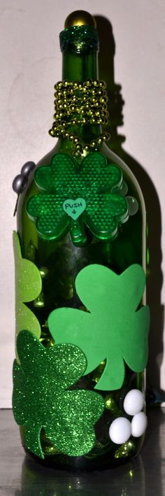 hey all you Irish! get your st patty's day light bottle right here!