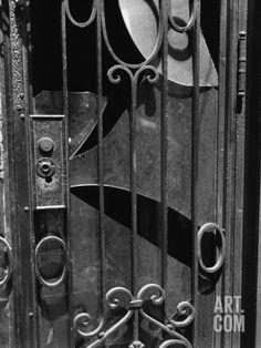 Door, New York, 1943 Photographic Print by Brett Weston at Art.com