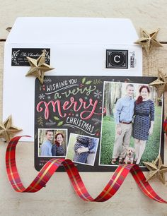 The holiday season has arrived! Personalize your Christmas cards and capture something special. Melissa showed photos of her little growing family.