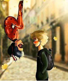 Is it weird that I want a Spider-Man kiss for ladynoir?