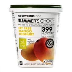 Slimmer's Choice Fat Free Mango Yoghurt