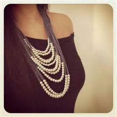 T Shirt Yarn Necklace - - Yahoo Image Search Results
