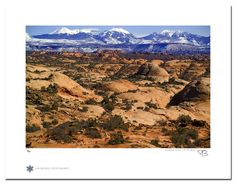 """Moab 33. """"Moab 33"""" is a photograph taken in Arches National Park outside Moab, Utah Technical Information: This is a limited edition photograph produced on Epson Premium Presentation Fine Art Matte Media using an archival pigment. Each photograph is produced, signed and numbered by the artist. Only one hundred or fewer prints are produced in each series. Prints are delivered in a crystal clear presentation sleeve supported with a white backing board. On 8.5 x 11 media the printed image is…"""