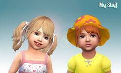 My Stuff: Rival Hairstyle for Toddlers