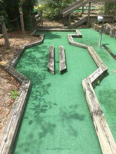 Backyard Games, Outdoor Games, Outdoor Fun, Backyard Ideas, Garden Ideas, Backyard Putting Green, Putt Putt Golf, Golf Card Game, Outside Games