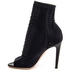 Black Vires Bootie (16 175 ZAR) ❤ liked on Polyvore featuring shoes, boots, ankle booties, short black boots, kohl boots, black shootie, ankle boots and black ankle bootie