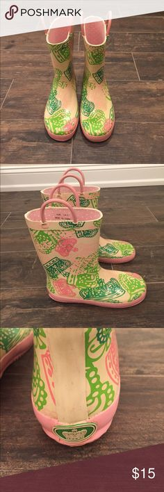 Juicy Couture Girls Rainboots Rain boots girls size 1. Good condition. Juicy Couture Shoes Boots