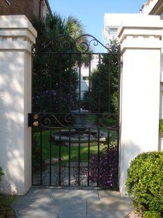 Lovely gate in Charleston, S.C.