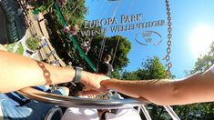 Europa Park Wiener Wellenflieger 360° VR POV Onride Park, Youtube, Travel, Europe, Viajes, Parks, Destinations, Traveling, Trips