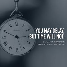 The time to #beproductive is now