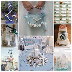 Vous avez le pied marin, votre mariage se déroulera en bord de mer ? N'hésitez plus, jetez l'ancre et organisez votre mariage sur le thème de la mer. Car q