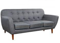 Καναπές 3θέσιος σε γκρι χρώμα