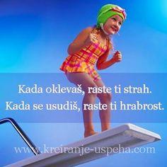 Ne oklevaj, ne dremaj, vec....:) Quotations, Qoutes, Diary Quotes, You Are Important, Good People, Amazing People, Positive Quotes, Einstein, Funny Jokes