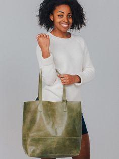 Mamuye Leather Tote | FASHIONABLE