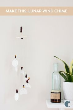 How to make an oven-bake clay wind chime