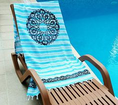 90x160cm Turkish Soft Cotton Turquoise Peshtemal Block Print Motifs Hand Woven…