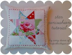 star pincushion tutorial