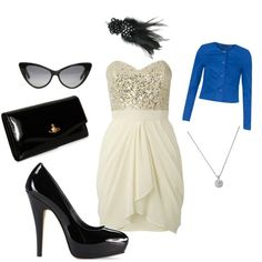 Dressin' up, created by raganlee on Polyvore