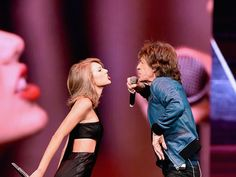 Another day, another Taylor Swift special guest! For her Sept. 26 concert in Nashville, Taylor brought out the legendary Mick Jagger to sing '(I Can't Get No) Satisfaction.' As expected, it was epi...