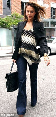 She has really inspired me to wear light jackets over almost anything to add a chic look, great colour demin too