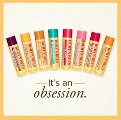 Burt's Bee lip balms - can't live without these!