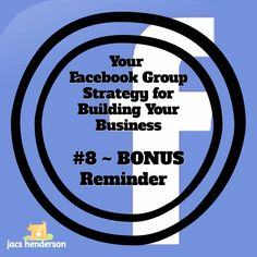 💙 FACEBOOK GROUP STRATEGY #8 ~ BONUS Reminder  Always REMEMBER this…  Ultimately THE Money Making Activities in ANY Business, but especially Network Marketing, involve…... See more