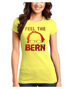 TooLoud Feel the Bern Juniors Petite T-Shirt
