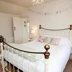 Compare prices for Nurse Cherry Cottage, and book online for the best deal. Attractive two bedroom cottage in Reeth with delightful garden, feature fireplaces & contemporary kitchen. Coastal Bedrooms, Shabby Chic Bedrooms, Shabby Chic Homes, Shabby Chic Decor, Cottage Bedrooms, Romantic Cottage, Coastal Cottage, New Furniture, Kitchen Furniture