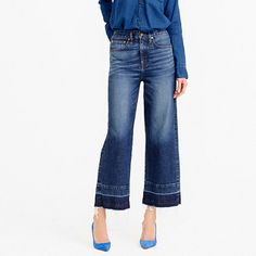 Moving on from the ubiquitous skinny jean - and some new denim brands to look out for - That's Not My Age