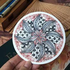#zentangle #inkart #lilymoon #draw #shading #doodle #coloring #zendala #mandala