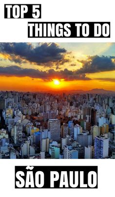 Top 5 things to do in São Paulo on the weekend (from an insider's view)!
