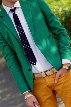 Una opción para días de verano. Mucho color sin dejar de lado lo casual y elegante.