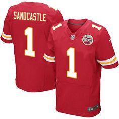 Nike Chiefs #1 Leon Sandcastle Red Team Color Men's Embroidered NFL Elite Jersey
