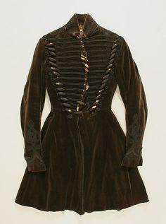 Coat Date: 1815 Culture: European, Eastern Medium: silk Accession Number: C.I.39.13.26