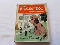 The Biggest Dog in the World by Ted Key Vintage by EtagereAntiques