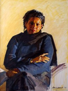 Robert Hannaford's portrait of Deborah Mailman Australian Painters, Australian Artists, Realistic Paintings, Art Station, Modern Artists, Western Art, Art Of Living, Portrait Art, Figure Painting