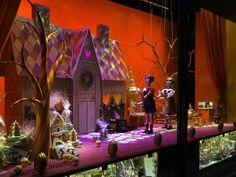 Los grandes almacenes británicos sorprenden un año más con sus escaparates de Navidad