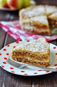 Szarlotka sypana (bez zagniatania, bez jajek) - Czekoladą Utkane Apple Cake, Cook, Recipes, Kitchens, Rezepte, Recipe, Koken, Cooking Recipes