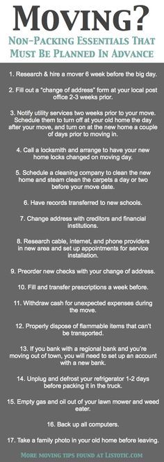 33 Helpful Moving Tips Everyone Should Know! Including this handy checklist of i. , 33 Helpful Moving Tips Everyone Should Know! Including this handy checklist of important details not to forget. Moving Day, Moving Tips, Moving Hacks, Moving House Tips, Moving Stress, Home Staging Tipps, Eduardo E Monica, Move On Up, Big Move