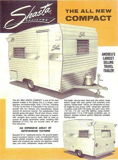 1964 Shasta Compact  by MidCenturyMama, via Flickr