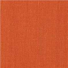 European Linen Fabric Spice